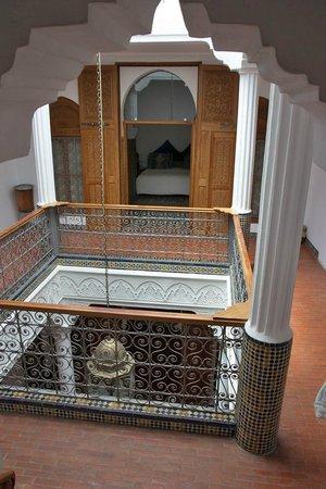 Blanco Riad Hotel & Restaurant: Vista del Patio interior