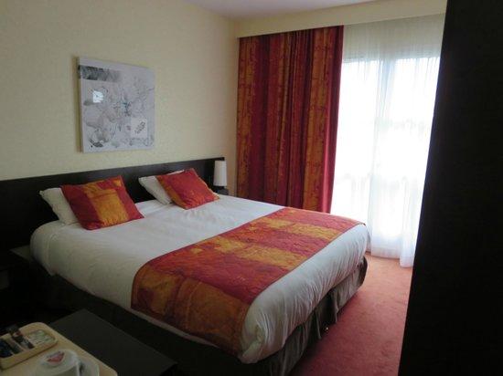 Qualys Hotel Rouen La Berteliere: Notre chambre