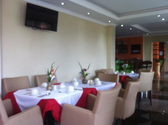 Hill View Hotel & Aparts : Restaurant