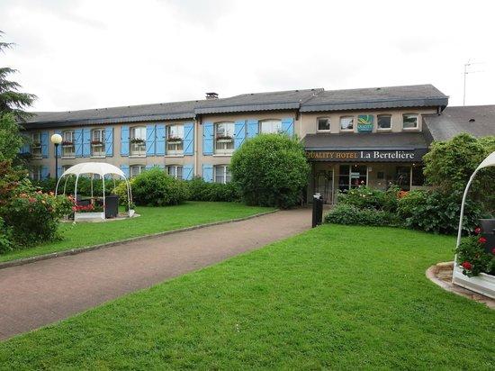 Qualys Hotel Rouen La Berteliere: photo de l'hôtel
