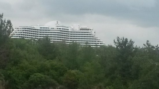 Rixos Downtown Antalya: From the park side