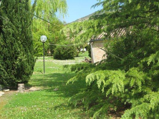 La Casina Rosa : giardino