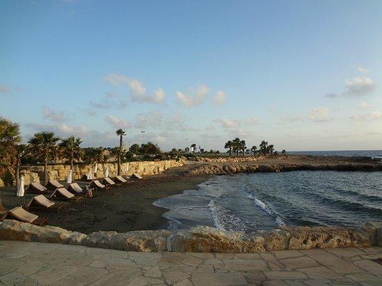 Elysium Hotel: Пляж вечером