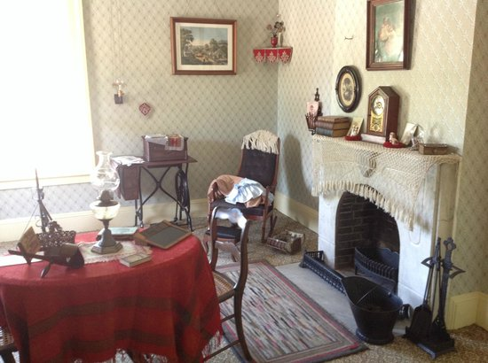 Greenfield Village: Sarah Jordan Boarding House , 1870.