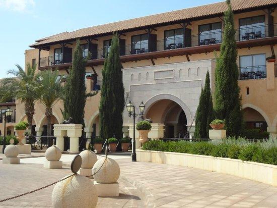 Elysium Hotel : Вход в отель