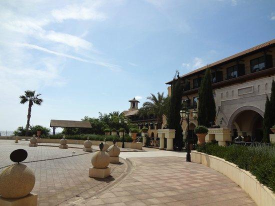 Elysium Hotel: Вход в отель
