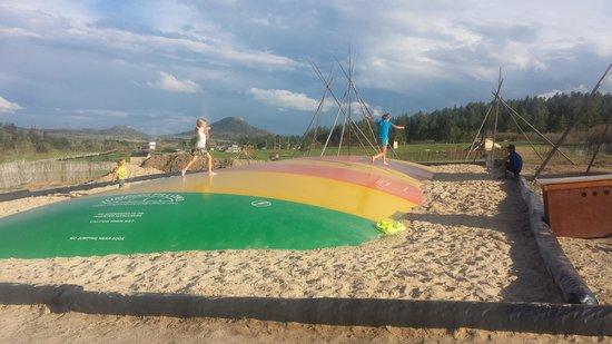 Yogi Bear's Jellystone Camp-Resort at Larkspur Colorado: jumper