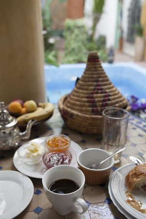 Maison Arabo Andalouse: Breakfast!