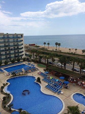 Golden Taurus Park Resort: The view from my balcony
