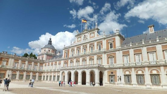 Royal Palace of Aranjuez : Fachada