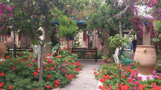 Palm Bay Hotel : Nice grounds