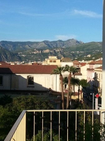 Hotel Tirrenia: Side view from balcony (room 403)
