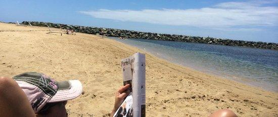 Aquarius Vacation Club at Dorado del Mar Beach & Golf Resort: Beach it's not so great!!!