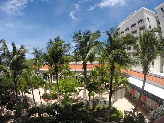 Aquarius Vacation Club at Dorado del Mar Beach Resort: View from room 2456