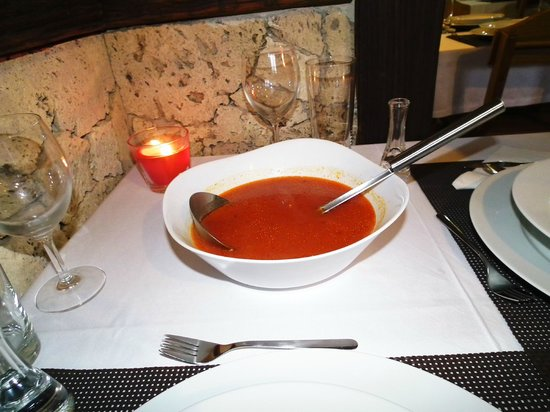 Golden Lakes Rooms : Soup
