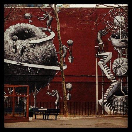 Four Points by Sheraton Manhattan SoHo Village: Soho Wall Panel