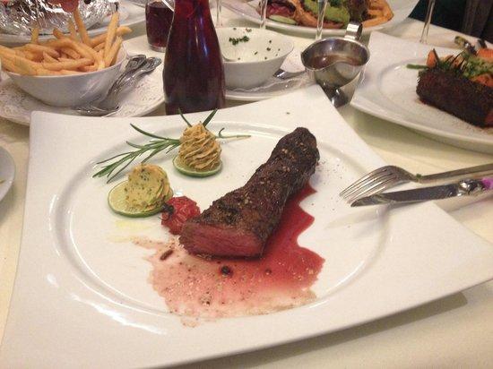 """Zwickel & Kaps und Mi & Si: 300g Steak """"Medium bis Durch"""""""