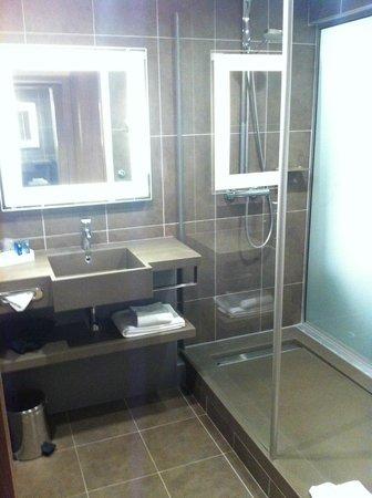 Novotel Toulouse Centre Wilson : Bagno spazioso