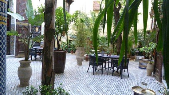 Riad Le Calife : le patio