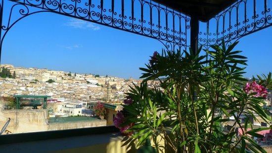 Riad Le Calife: vue de la terrasse