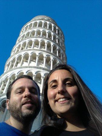 La tour de Pise (Campanile) : Torre