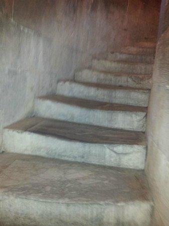 La tour de Pise (Campanile) : Escalera