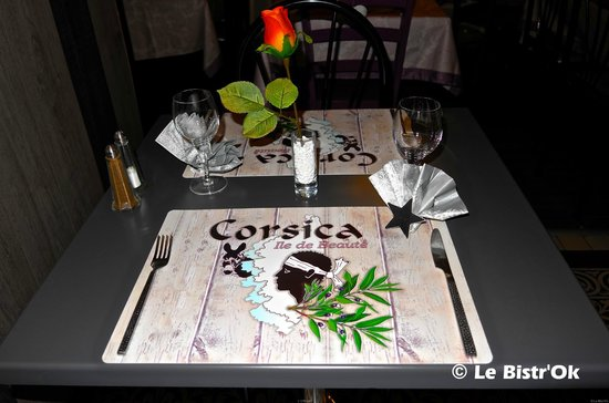 Le Bistr'Ok : Les tables