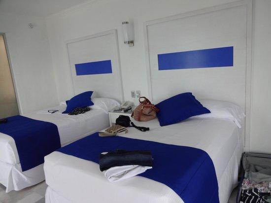 Hotel Riu Caribe: Quarto