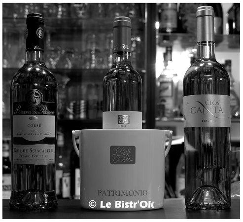 Le Bistr'Ok : Les vins rosés Corses