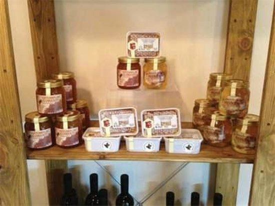 The Old Stables: Local Honey from Hulne Park, Alnwick