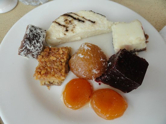 Uchisar Kaya Hotel: Abricots au miel...