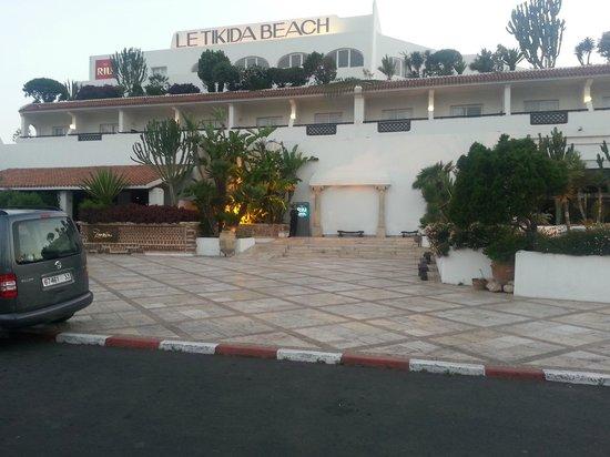 Hotel Riu Tikida Beach : entrée hotel