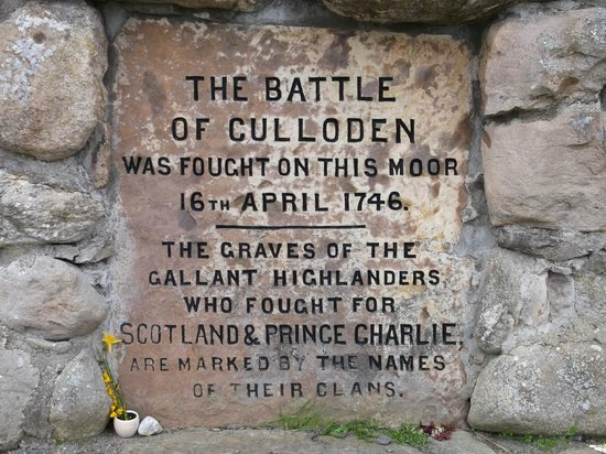 Culloden Battlefield: Culloden monument
