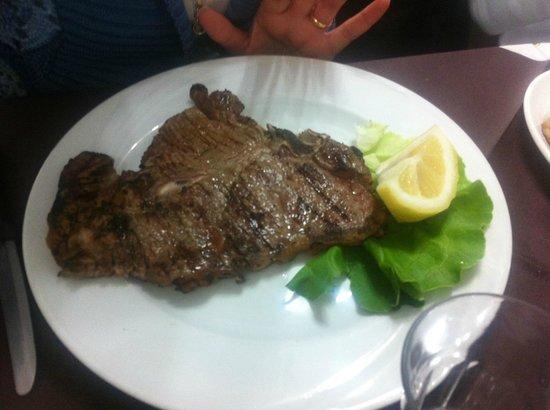 La Vecchia Cucina : LA carne era ottima !