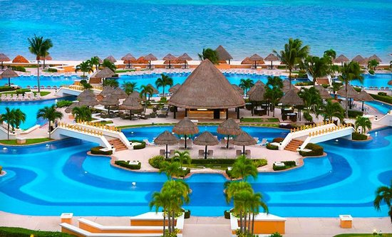 Moon Palace Cancun: view