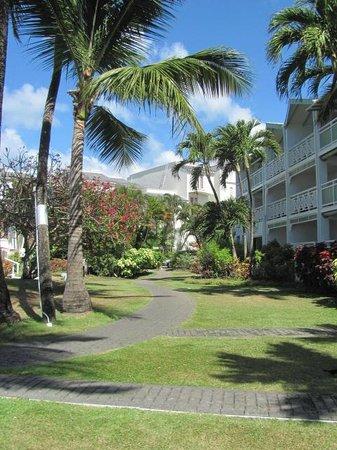 Bougainvillea Beach Resort: parque