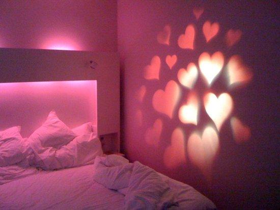 Nordic Light Hotel: chambre lumière différente