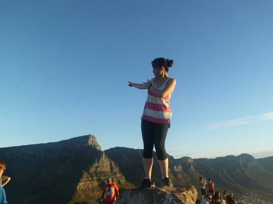 Cape of Good Hope: Table montain back
