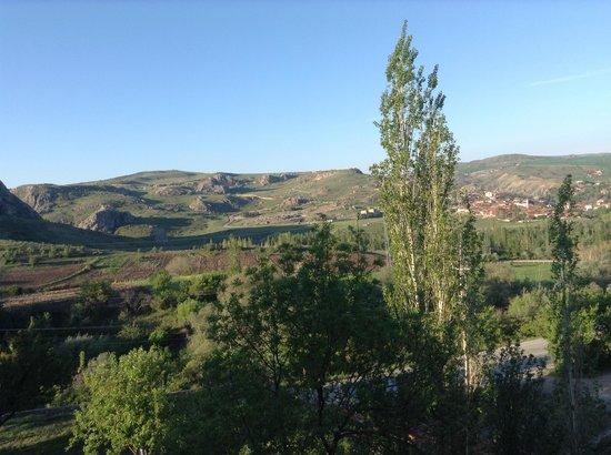 Baskent Demiralan Hotel : View of Hattusas from Hotel
