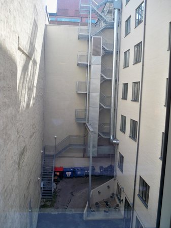 Park Inn by Radisson Oslo: view from our quiet room