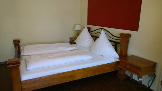 Hotel Ludwigs: Room beds