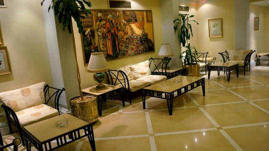 Pavillon Winter Luxor : HALL D'ACCUEIL