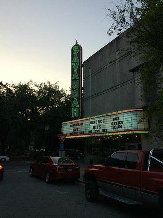 Historic Savannah Theatre : outside the theatre