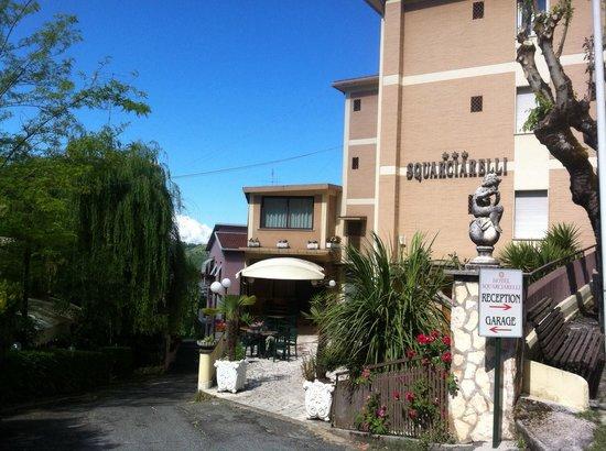 Hotel Squarciarelli: Onze uitvalsbasis voor Rome.