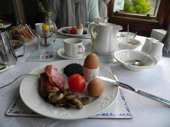 Craignay Guest House: шотландский завтрак, вторая перемена блюд