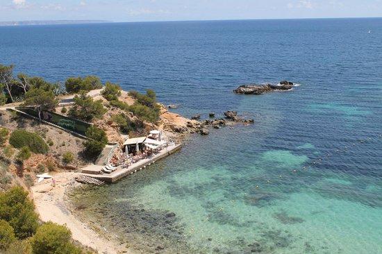 Hotel HSM Maria Luisa : Vue depuis le chemin côtier à 5 minutes de l'hôtel