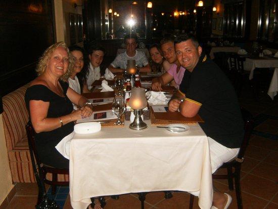Jaz Makadi Saraya Resort: eating at Le Grill