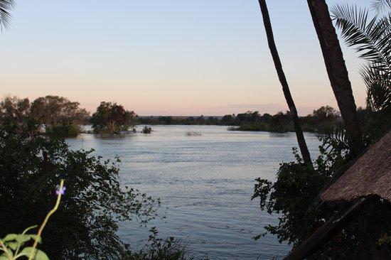 Thorntree River Lodge: The Zambezi river