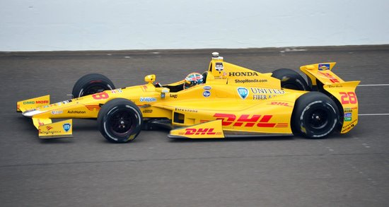 La Quinta Inn Indianapolis Airport Lynhurst: ryan hunter-reay, this year's winner, running at the nearby indianapolis motor speedway