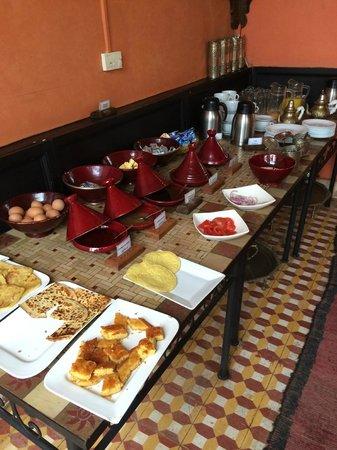 Hotel Sherazade: breakfast buffet